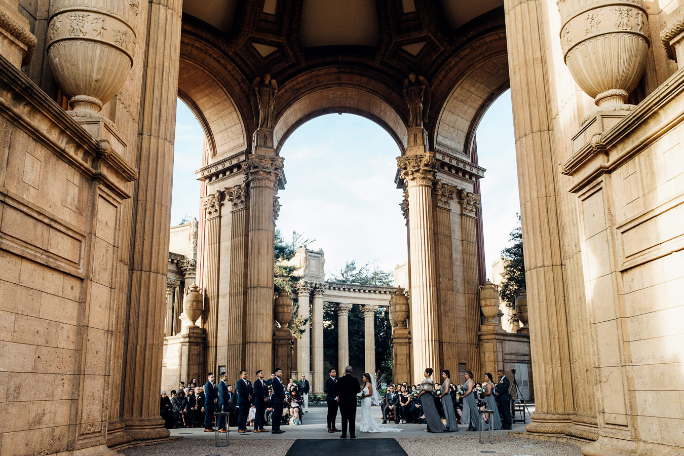 Palace of Fine Arts Wedding Photo | Duy Ho Photography
