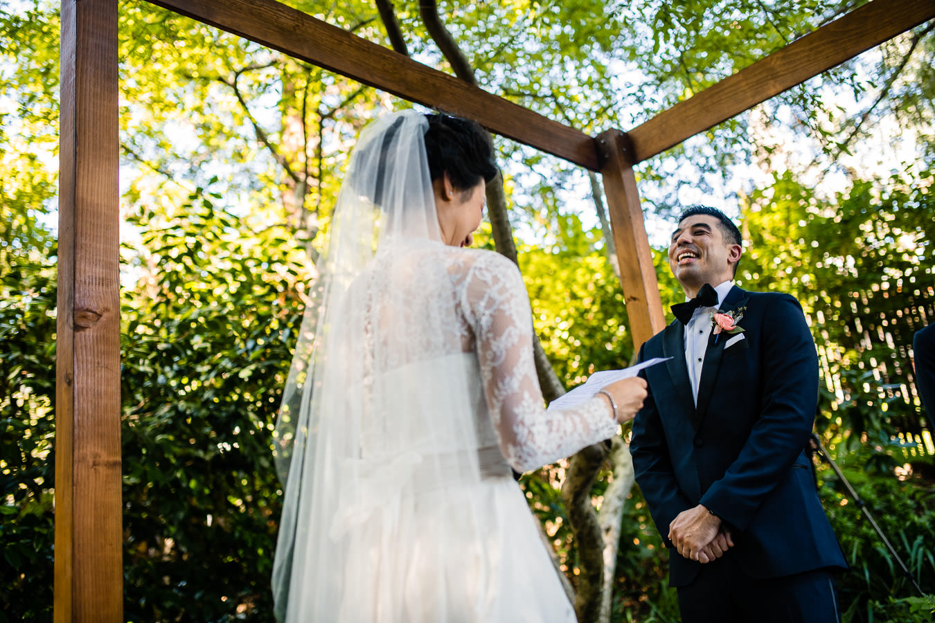 mill valley outdoor artclub wedding