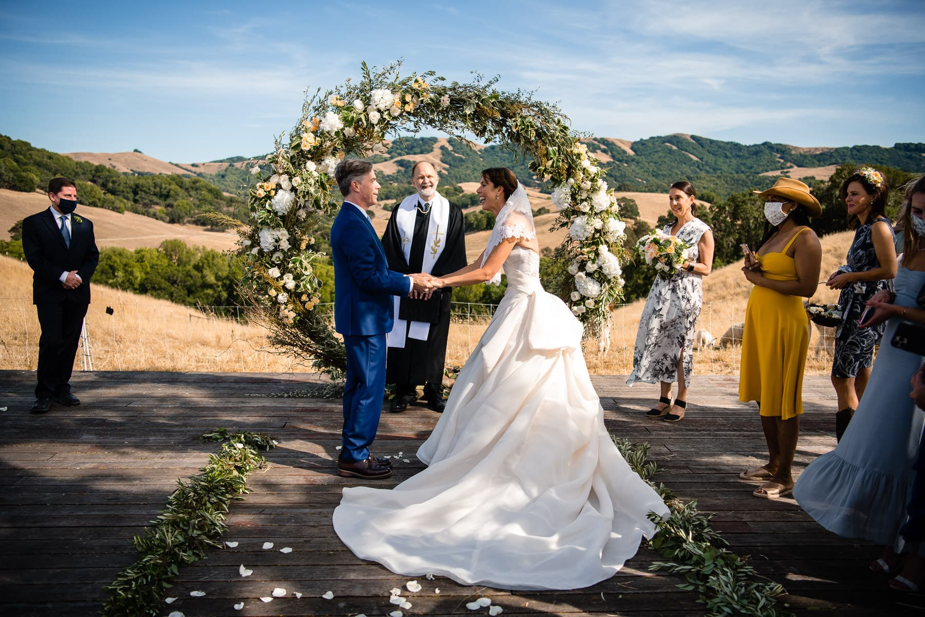 La Colina Ranch Wedding Photo